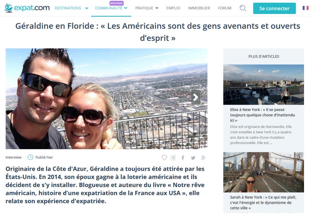 Expat.com - Cliquez sur l'image pour accéder à l'interview