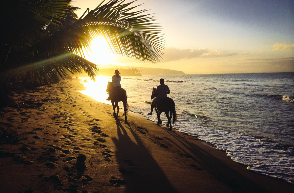 Horseback-riding-at-sunset-on-the-beach-near-Las-Terrenas-by-Patrick-Bennett1-1200x787