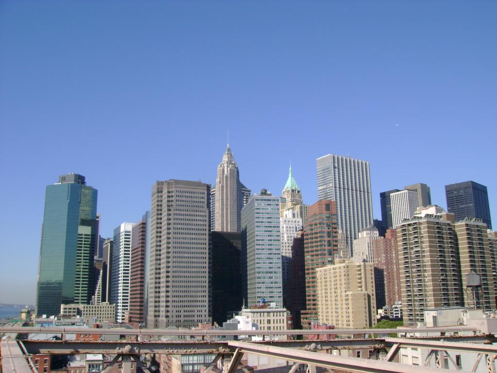 Downtown from Brooklyn bridge