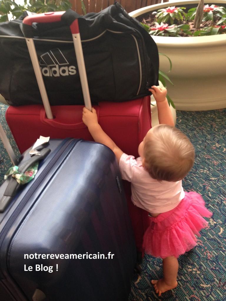 voyager avec un bébé aux usa