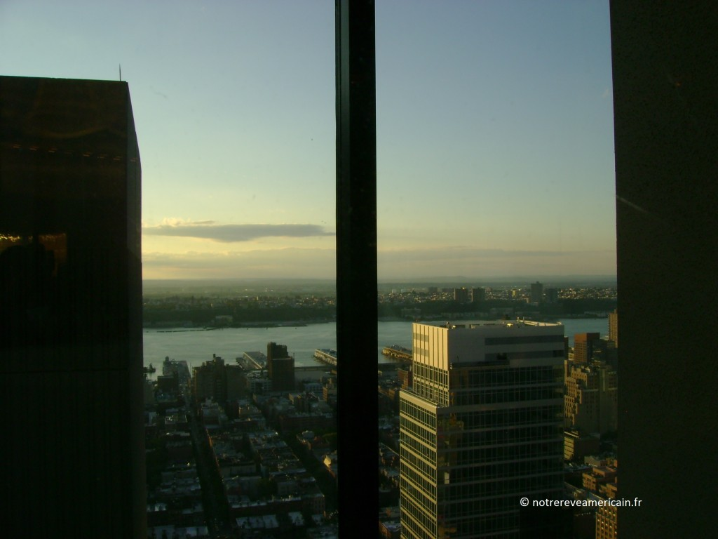 Hudson River from Marriot Marquis