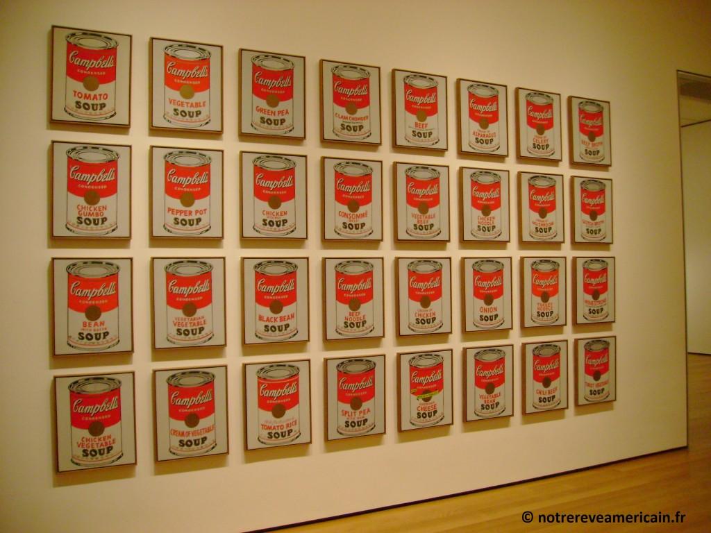 Warhol Campbell MOMA new york